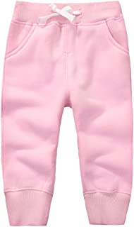 Baby Jogginghose Langarm Baumwolle Sweathose Leggings mit Tunnelbund Babykleidung 12-18 Monate