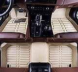 Alfombrillas de cuero para Hyundai Accent Solaris Verna 2012 2013 2014 2015 2016 2017 coche estilo estera personalizada