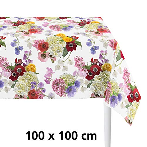 APELT Tischdecke Summer Flowers L:100 x B:100cm - (7183 100X100 Fb.50)