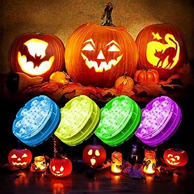 Oralys Halloween Pumpkin Lights Battery Operate...