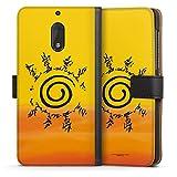 DeinDesign Étui Compatible avec Nokia 6 2017 Étui Folio Étui magnétique Naruto Shippuden Produit...