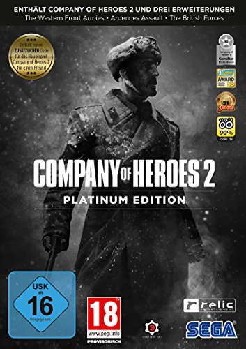 Company Of Heroes 2: Platinum Edition Pc Dvd