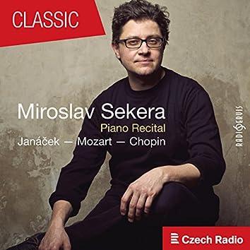Piano Recital: Miroslav Sekera (Janáček, Mozart, Chopin) [Live]