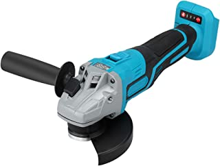 Digital Angle Grinder 18V 125mm Cordless Brushless Angle Grinder Power Tool for Wood and Metal Cutting,Grinding, Polishing...