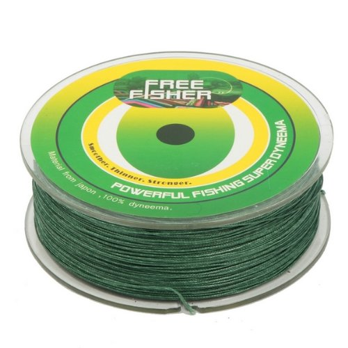 FREE FISHER Braided Fishing Line,Saltwater Fishing Line,Abrasion Resistant Braided Lines, Green...