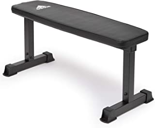 ESSENTIAL FLAT BENCH- BLACK, 1 SIZE