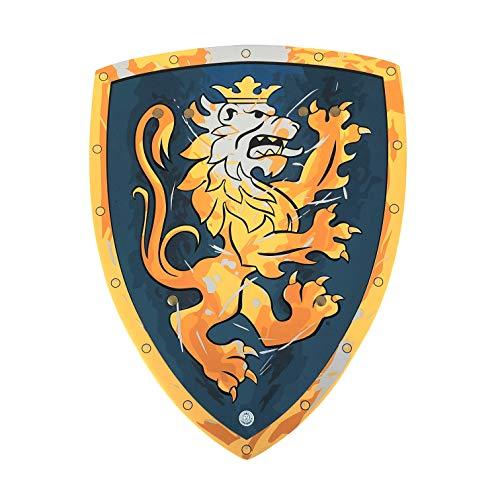 Liontouch 116LT Mittelalter Edler Ritter Spielzeug Schaumstoff Schild für Kinder, Blau | Teil von Kostüm mit Schwert und Zubehör