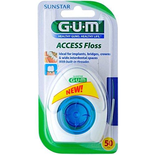GUM ACCESS Floss für 50 Anwendungen, DOPPELPACK (2 Stück)
