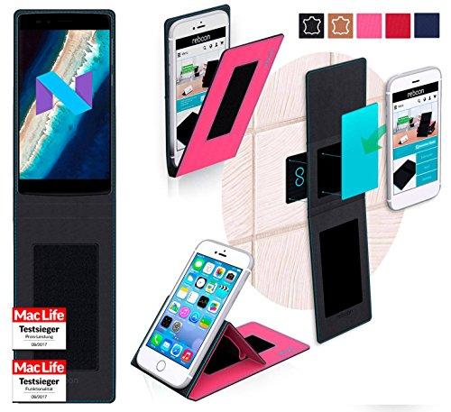 reboon Hülle für Vernee Apollo X Tasche Cover Case Bumper | Pink | Testsieger