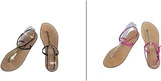Sandali Artigianali Donna Capresi Moda Capri Sorrento Positano 100% Made in Italy Personalizzabili - Modello Clarissa