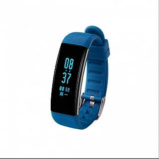 Reloj Inteligente,Fitness Tracker,Pulseras Actividad,Pulsera Inteligente con Pulsómetro,Monitor de Actividad,Monitor de Ritmo Cardíaco,Bluetooth para IOS y Android