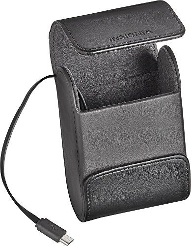 Insignia - Charging Case for Most Wireless Earbud Headphones - Black