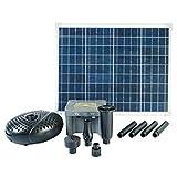 Ubbink Solarpumpe SolarMax 2500 Teichpumpe Springbrunnen Gartenteich Pumpenset