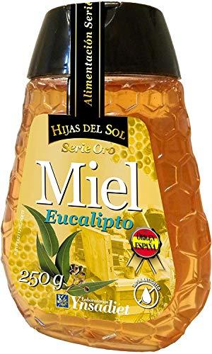 Miel de Eucalipto  Miel de Abeja Pura  Suplemento Alimenticio Fabricado en España  100{fa025ddfce896b5334d19a1d1cf696f489b079e1cff26dad749fd365a96537d3} Natural  Energía y Vitalidad  Miel de Flores Hijas del Sol  250g