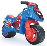 INJUSA - Marvel Moto Correpasillos Neox Spiderman para Bebés de 18 Meses con Decoración Permanente IML y Asa de Transporte, color azul y rojo, 27.7 x 21.1 x 19.3 (19060)