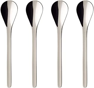 Coffee Passion Espresso Spoon Set of 4 by Villeroy & Boch - 18/10 Stainless Steel - Dishwasher Safe - 4 Inches