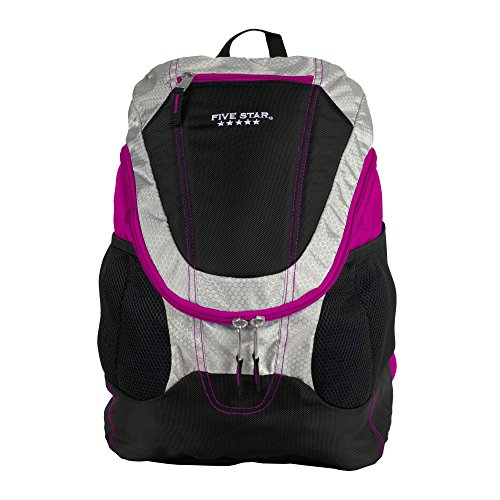 Five Star Big Mouth Backpack, Purple