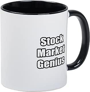 CafePress Stock Market Genius Mug Unique Coffee Mug, Coffee Cup