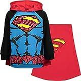 DC Comics Superman Toddler Boys Fleece Costume Hoodie Sweatshirt with Cape 3T