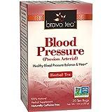 Bravo Tea Blood Pressure Herbal Tea -- 20 Tea Bags - 2PC