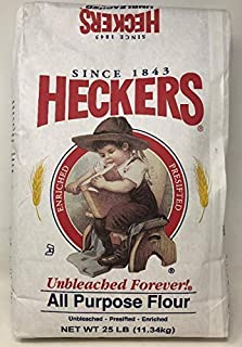 Heckers All Purpose Flour Unbleached 25LB