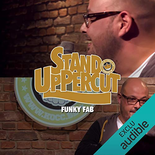 Stand UpPercut - Funky Fab audiobook cover art