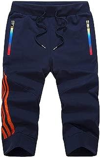 7VSTOHS Hommes Pantalon de randonn/ée en Plein air Respirant L/éger V/êtements de Sport Confortable Pantalons de Sport Escalade Course /équitation Pantalons de Marche Pantalon de Travail