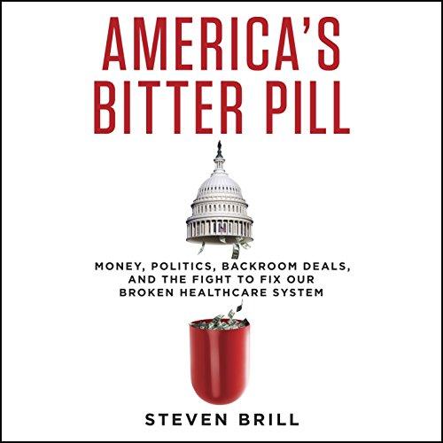 America's Bitter Pill audiobook cover art