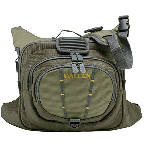 Allen Boulder Creek Fishing Chest Pack, Olive