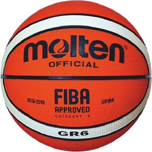 Molten BGHX - Balón de Baloncesto de Entrenamiento Senior Masculino, Naranja y Marrón claro, Talla 7