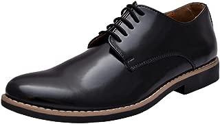 HiREL'S Black Derby Lace Up/Office/DressFormal Shoes