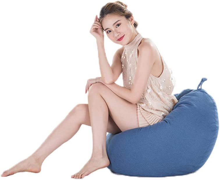 Aoile Toy 2021 new Storage Bean Bag Solid San Jose Mall Large Color Be Chair Sofa Cover