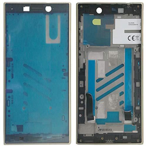 Zhouzl Sony Repuesto Cornice Anteriore Cornice LCD for Sony Xperia L2 (Nero) Sony Repuesto (Colore : Gold)
