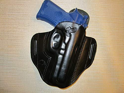 Beretta 92 Compact with Rail, Formed Leather Pancake owb...