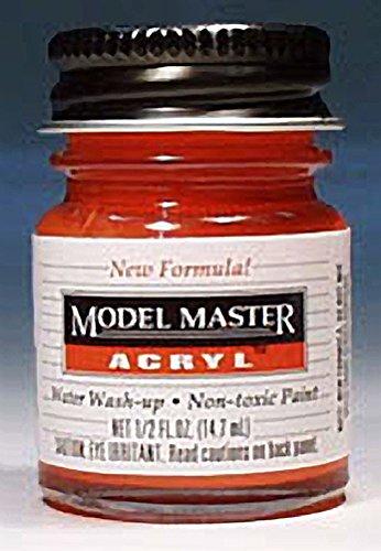 Testors Model Master Acrylic Chevy Engine Red