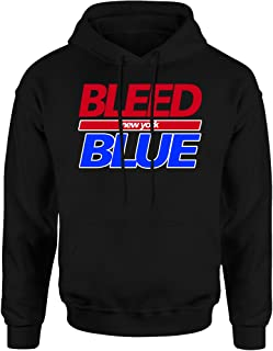 I Bleed Blue New York Hoodie Sweatshirt