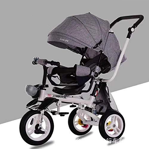SKYyao Kinderwagen,Sportwagen,Kinder Dreirad SI as eine klappbare Modell kann Kinderwagen Baby Wagen/Fahrrad liegen