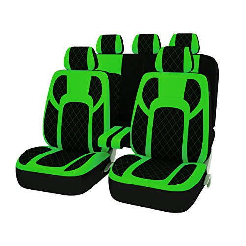 neon green seat covers - 5