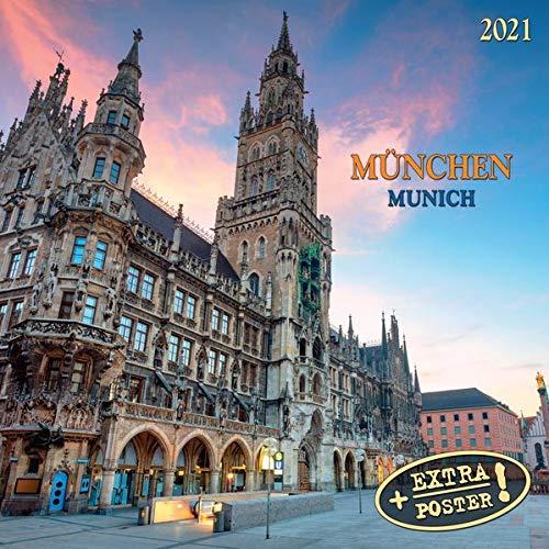Munich/München 2021: Kalender 2021 (Artwork Cities)