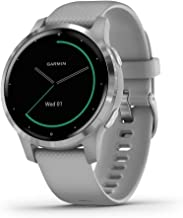 Garmin vívoactive 4S, Smaller-Sized GPS Smartwatch, Features Music, Body Energy Monitoring, Animated Workouts, Pulse Ox Se...