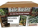 Straw Bale Gardening Starter kit, Includes Best Selling Instructional Book, and BaleBuster 5 Bale Organic Bale Preparation Mix, Compost Starter Contains Trichoderma Fungi and Bacillus Bacteria.