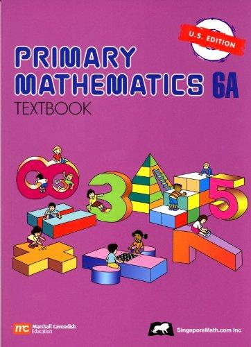 Primary Mathematics 6A Textbook U.S. Edition