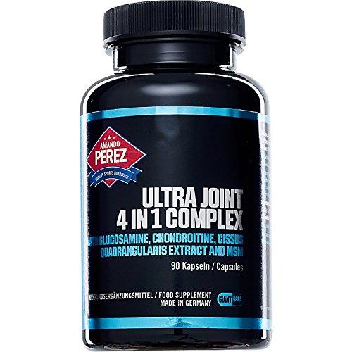 Ultra Joint 4-in-1 Complex 90 Kapseln • Hochdosiert • MSM, Glucosamin, Chondroitin & Cissus Quadrangularis
