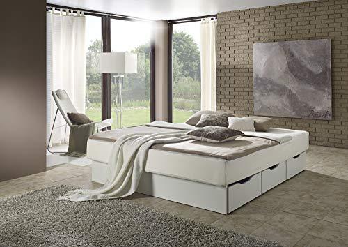 sambatu Wasserbett komplett Softside Dual Classic mit Schubkastensockel (180 x 200 cm)