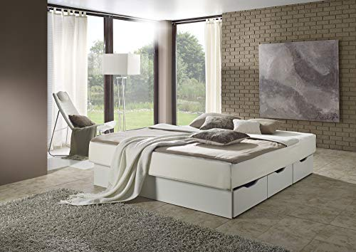 sambatu Wasserbett komplett Softside Dual Classic mit Schubkastensockel (200 x 210 cm)