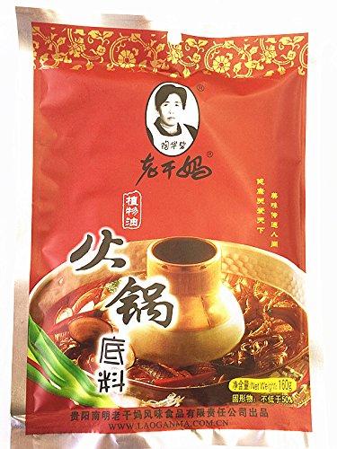 老干媽四川鍋の素 火鍋料 香味調味料 しゃぶしゃぶに 中華食材 中国産 160g
