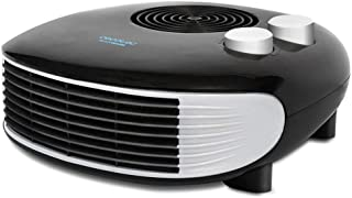 Cecotec Ready Warm 9650 Horizon Force - Calefactor Horizontal, 3 Modos, Termostato Regulable, Protección sobrecalentamiento, Antihelada, Sensor Antivuelco, 2000 W