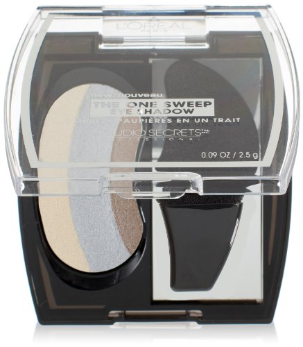 L'Oreal Paris Studio Secrets Professional The One Sweep Eye Shadow, Playful for Blue Eyes, 0.09 Ounces