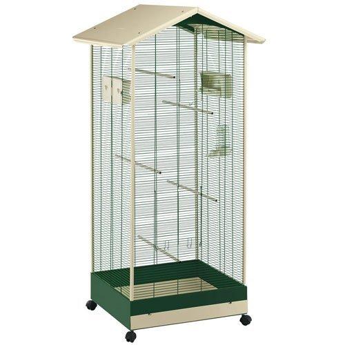 Ferplast 56114514 Vogelvoliere Aria, 161.5 cm, grün/beige