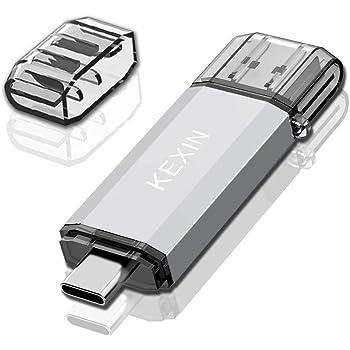KEXIN 64GB Memoria USB Tipo C y 64GB Memoria USB 3.0 OTG 2 en 1 USB Pendrive para Portátil,Teléfono y Otras Dispositivos USB o Tipo C: Amazon.es: Informática